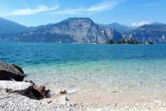 """Sibyliny hory jezero """"Fiastra"""""""